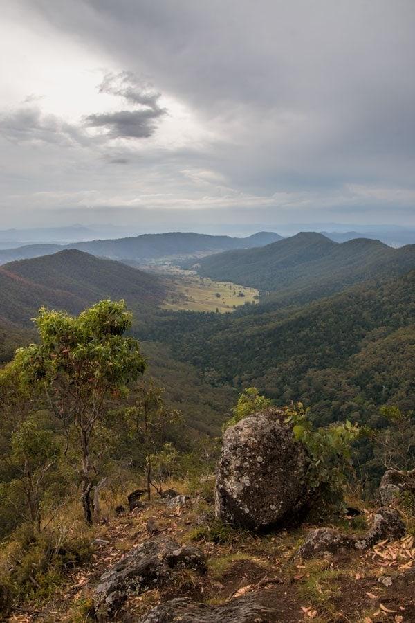 Lukes Bluff Lookout at o'Reillys Rainforest Retreat