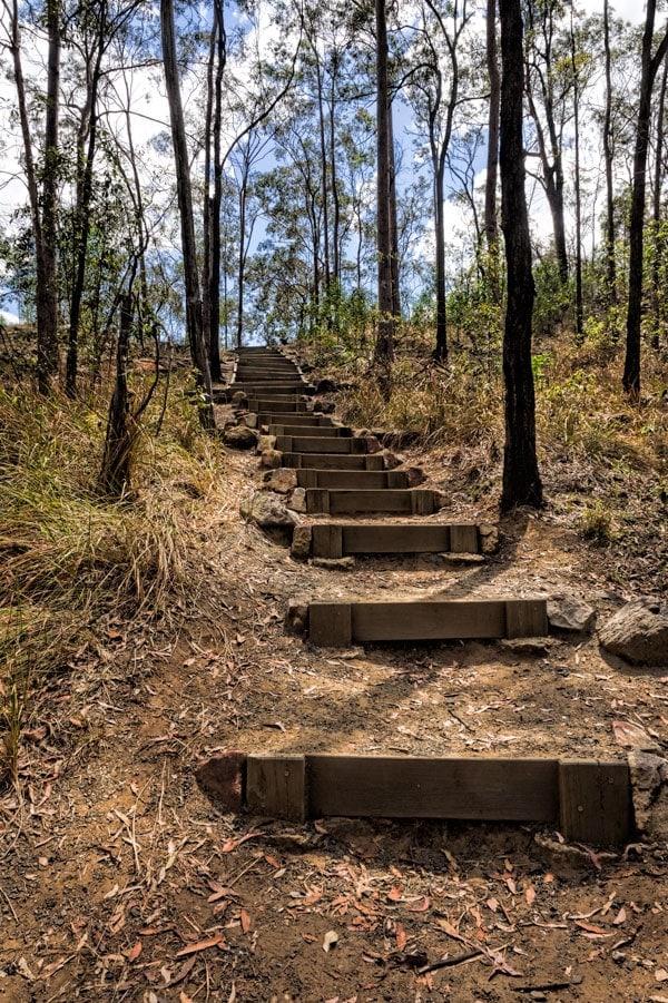 White Rock Conservation Park in Ipswich, Australia