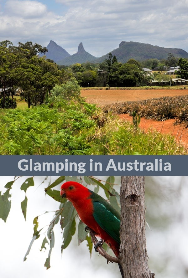 Glamping in Australia - like camping in nature with a touch of luxuary