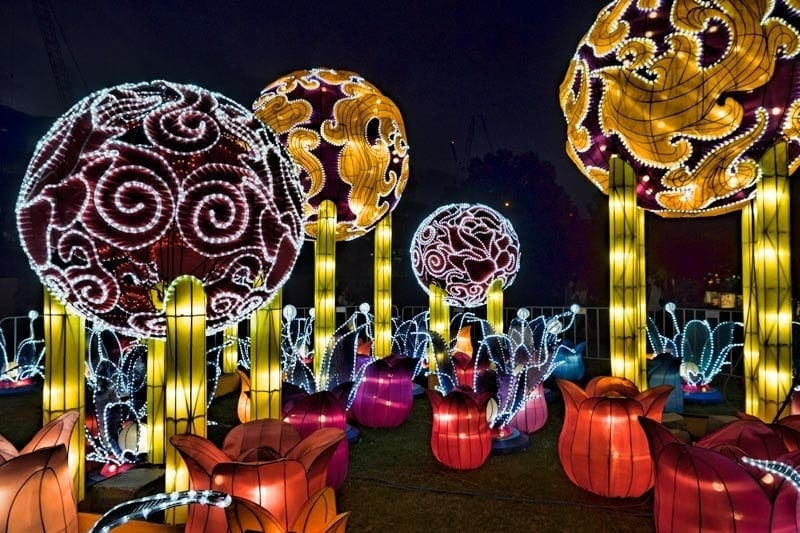 Darling Harbour Lanterns for Chinese New Year in Sydney