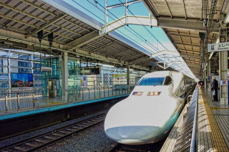 Using your Japan Rail Pass on the Shinkansen