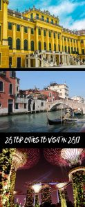 Top 20 cities to visit in 2017
