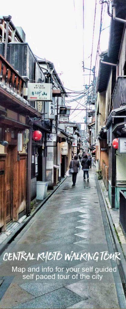 Central Kyoto Walking Tour
