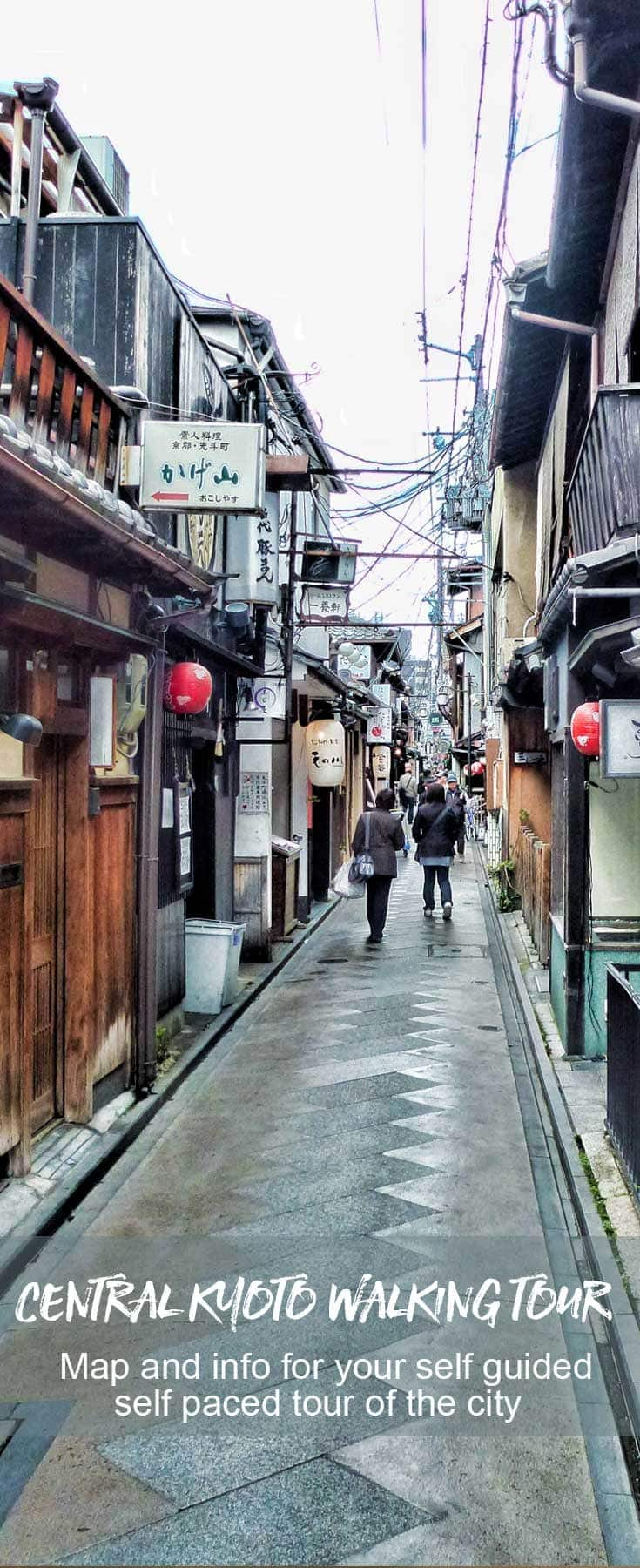 Kyoto Walking Tour - Central Kyoto on