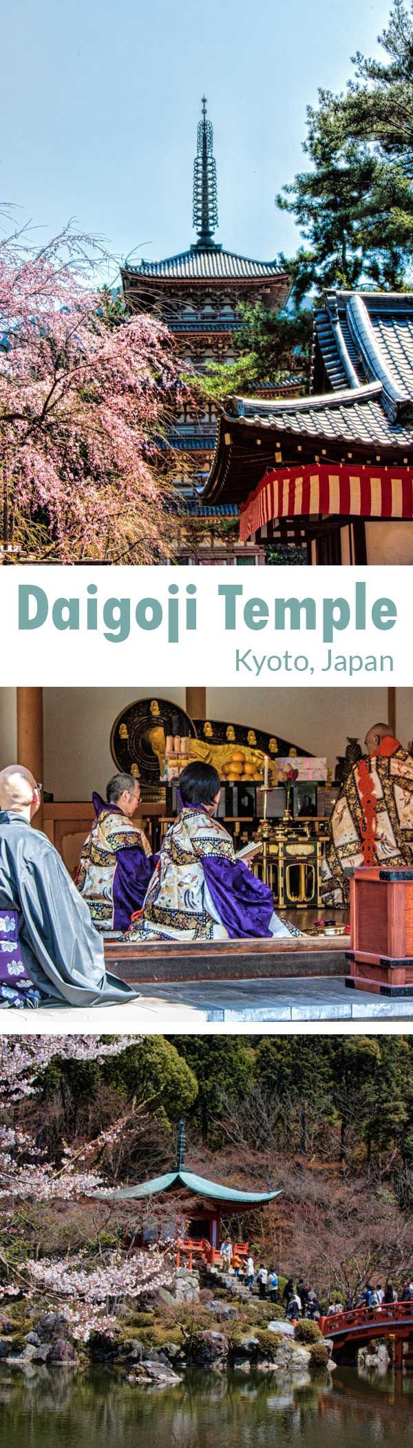 A guide to Daigoji Temple in Kyoto, Japan
