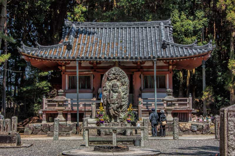Fudo Hall at Daigoji temple