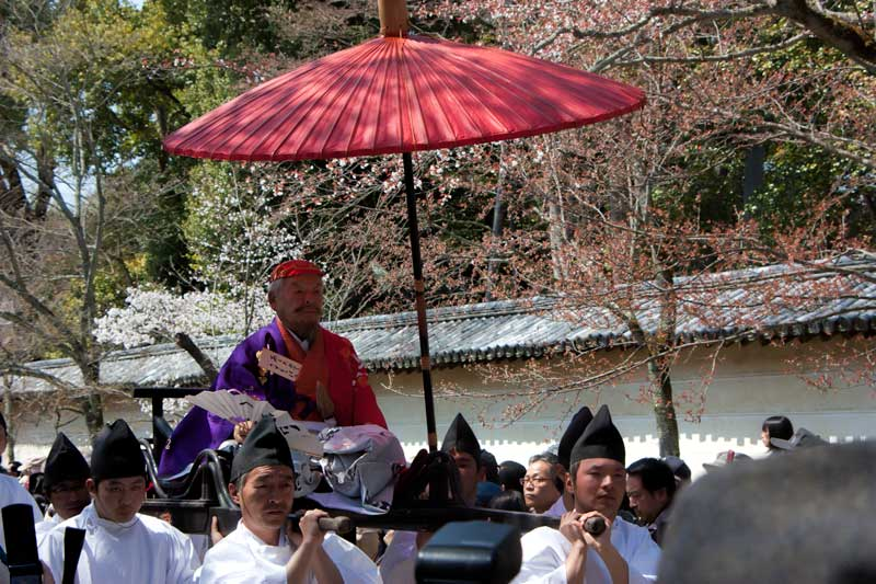 Daigoji Temple - Toyotomi Hideyoshi's cherry blossom-viewing parade