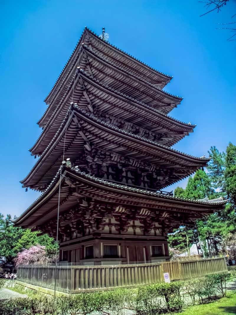 Daigoji temple - pagoda
