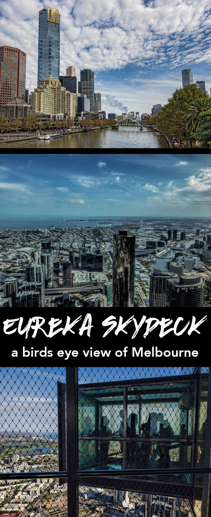 Eureka Skydeck in Melbourne