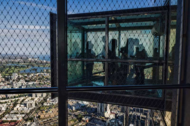 The Edge at Eureka Skydeck in Melbourne