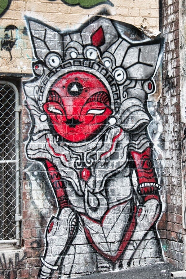 Street Art in Melbourne