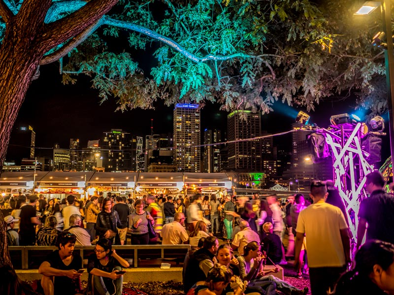 Brisbane night noodle markets
