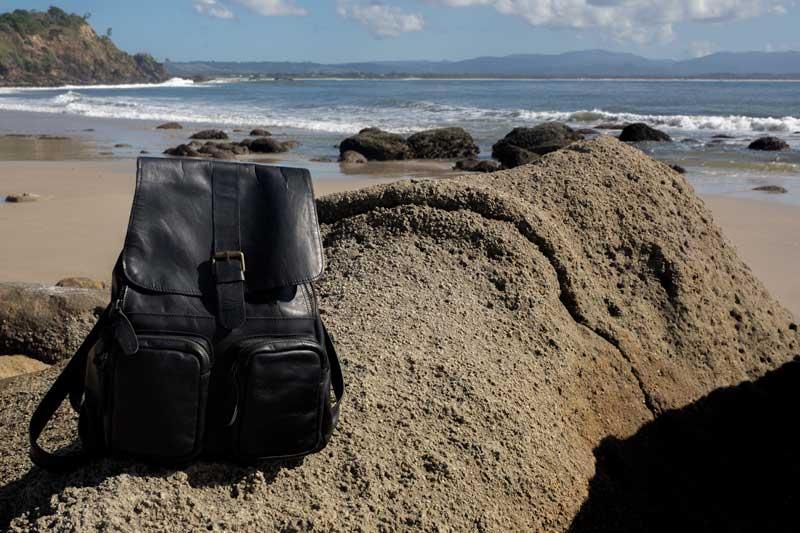 Mahi leather backpack