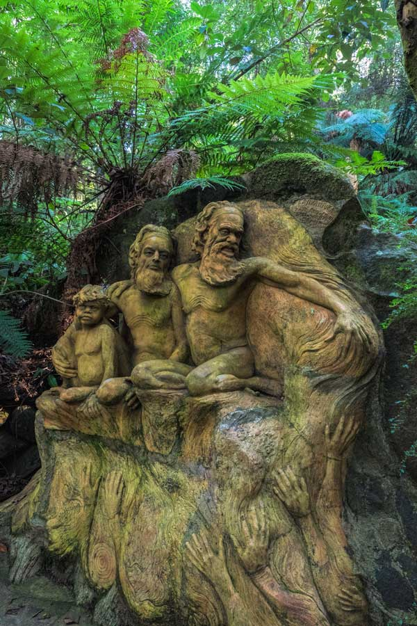 Sculptures of William Ricketts Sanctuary, Victoria,Australia