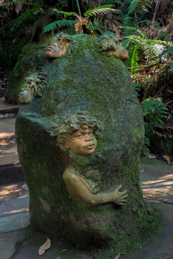 Sculpture at William Ricketts Sanctuary, Victoria, Australia