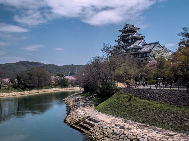 Japanese castles - Okayama castle
