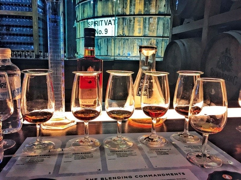 Bundy Rum Blending Experience