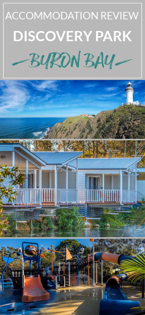 Where to stay in Byron Bay?  We review the Discovery Park deluxe lakeside cabins and what there is to do in the area.