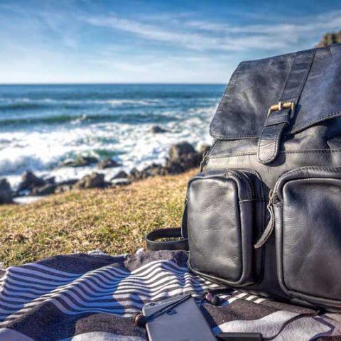 Roma Mahi leather backpack