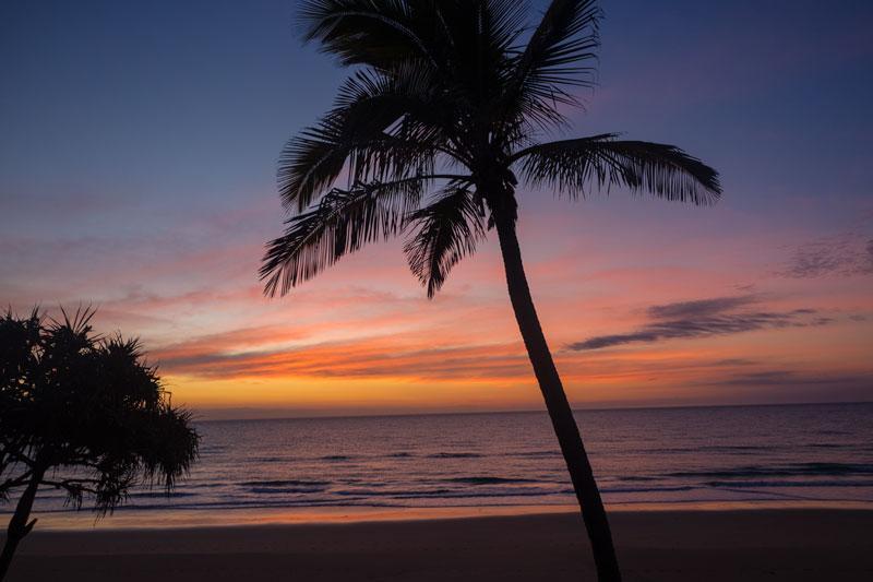 Sunrise on Kellys Beach Bargara