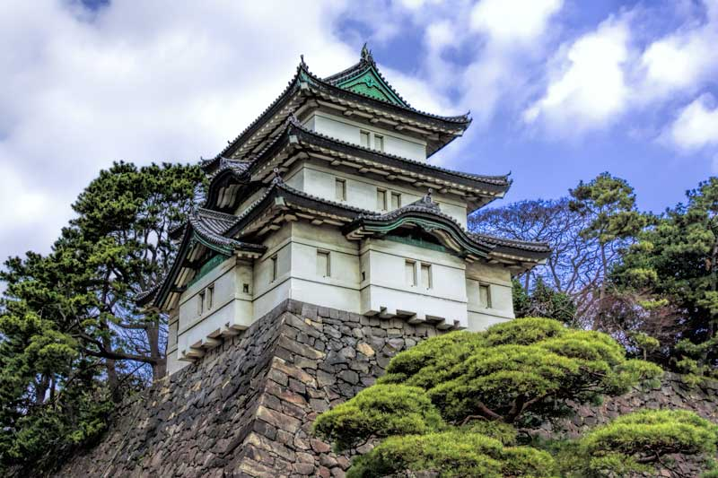 Imperial palace guard house