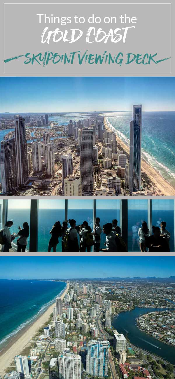 Get fabulous coastal and hinterland views from Skypoint Observation Deck on the Gold Coast, Australia