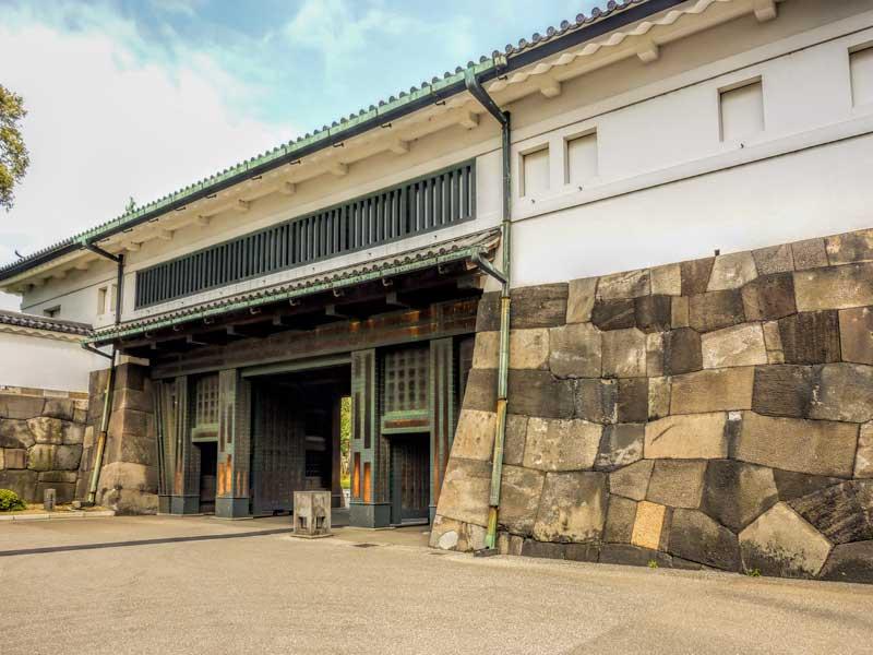 Otemon bridge at Tokyo Imperial Palace