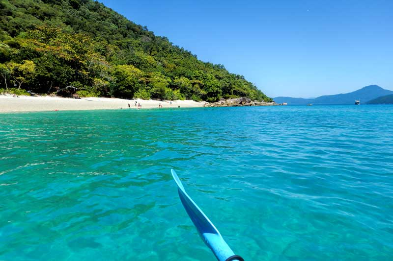 Kayaking on Fitzroy Island