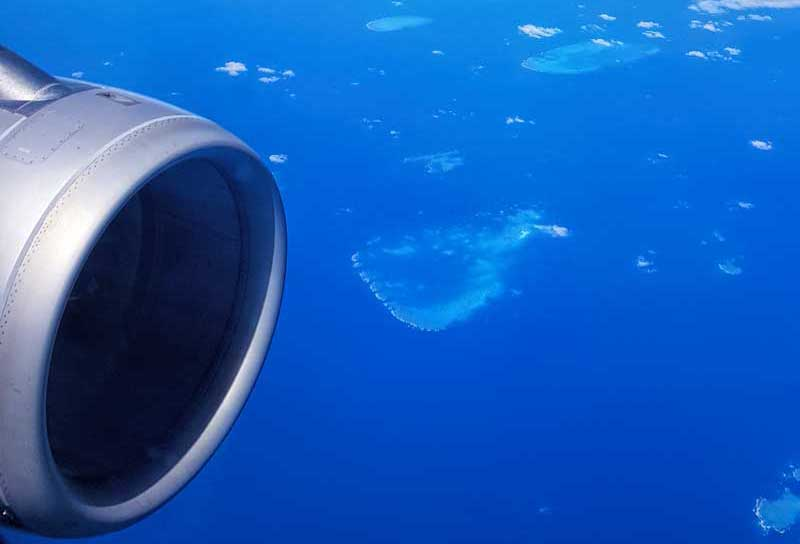 The reef from Jetstar