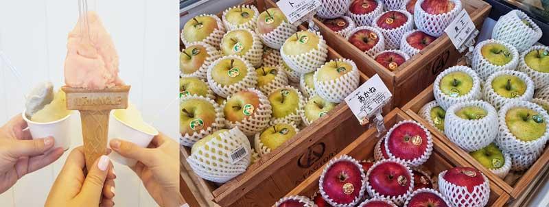 Aomori Apples at A Factory