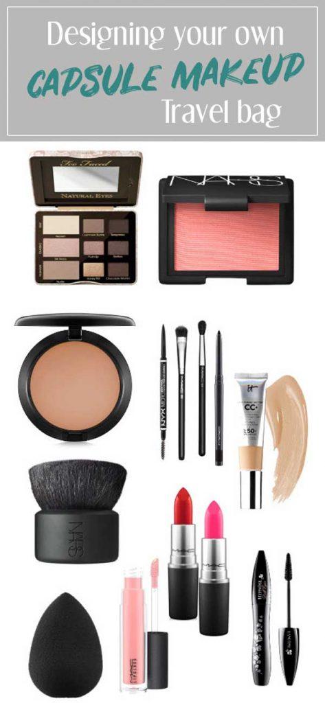 Capsule Makeup travel bag
