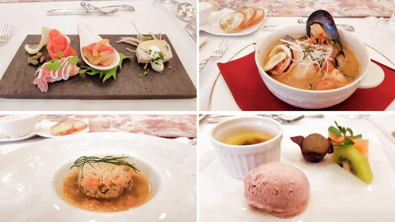 Hachinohe Park Hotel Bouillabaisse Festa Menu 2017