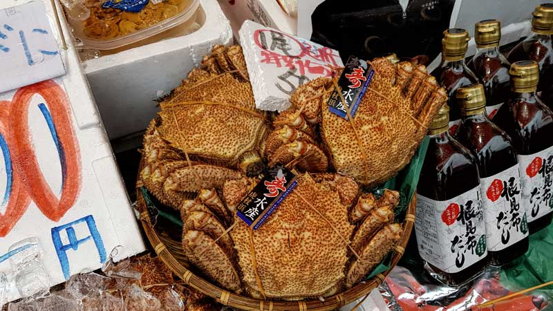 Hakodate Hairy Crab