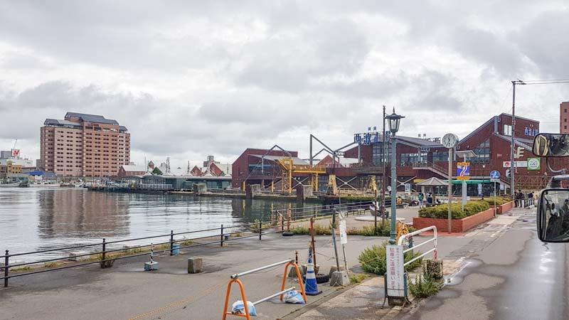 Hakodate port area