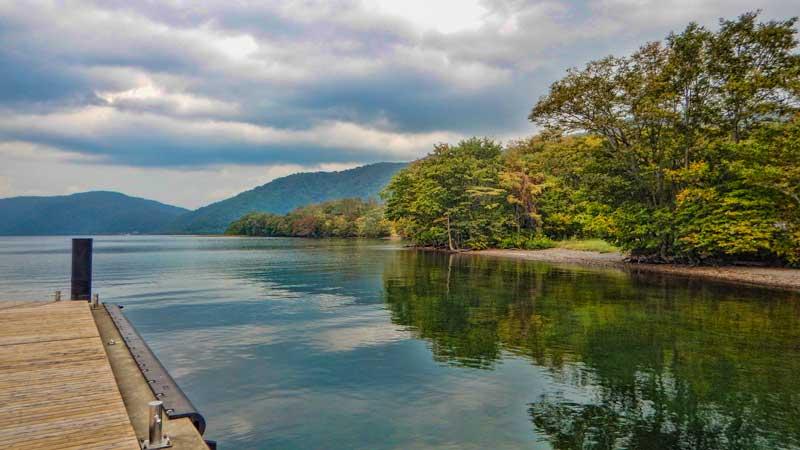 Lake Towada in Aomori Prefecture
