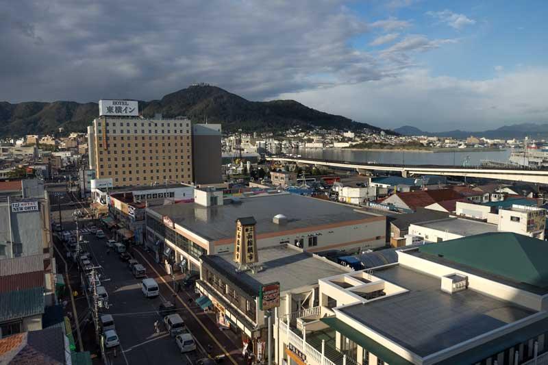 Mount Hakodate and Hakodate city