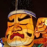 Festival lantern from Aomori's Nebuta celebrations