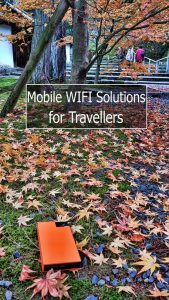 Pocket WIFI solutions for Travellers. How to choose the option that suits you #TravelTips