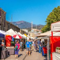 Salamanca - one of the best Hobart markets