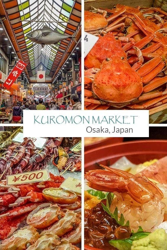 A visitors guide to Kuromon Market, Osaka