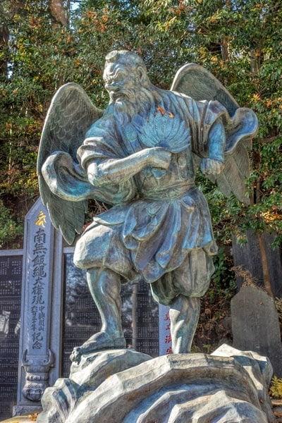 Statue of Tengu