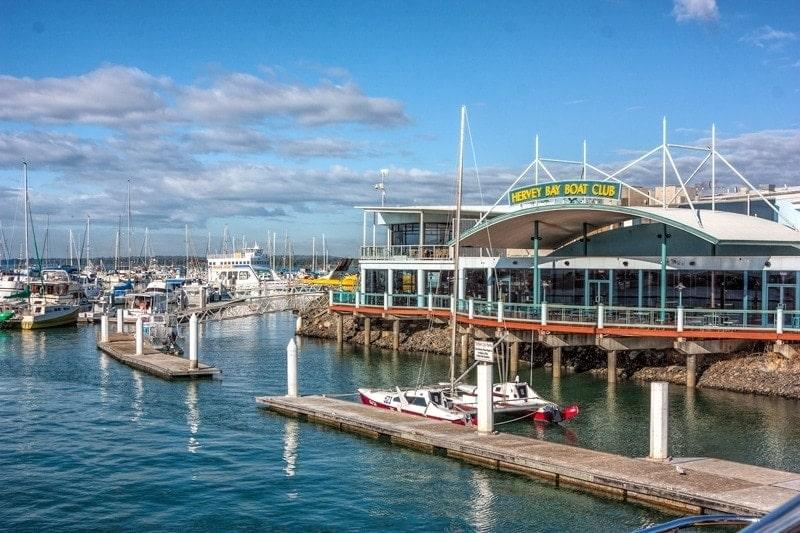 Club del barco de la bahía de Hervey