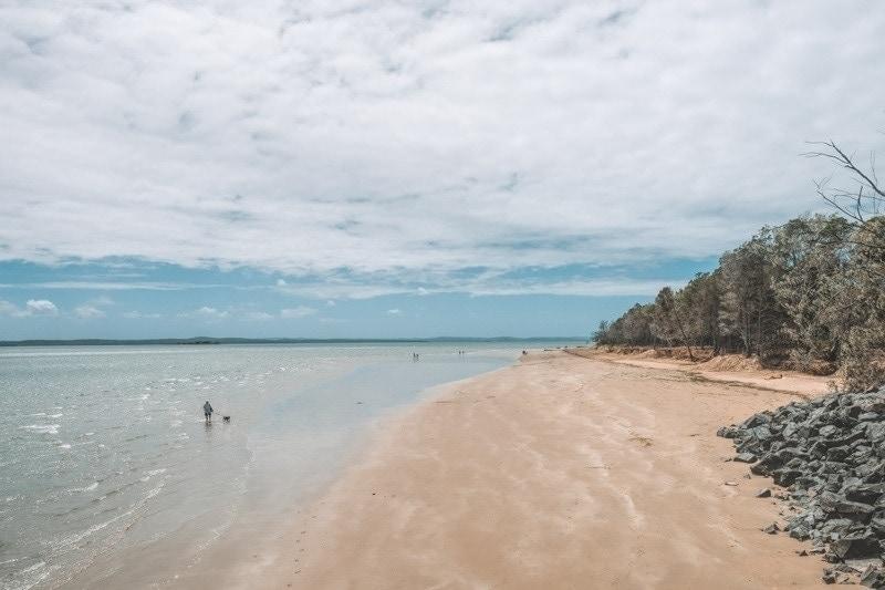 Urangan Beach, Hervey Bay