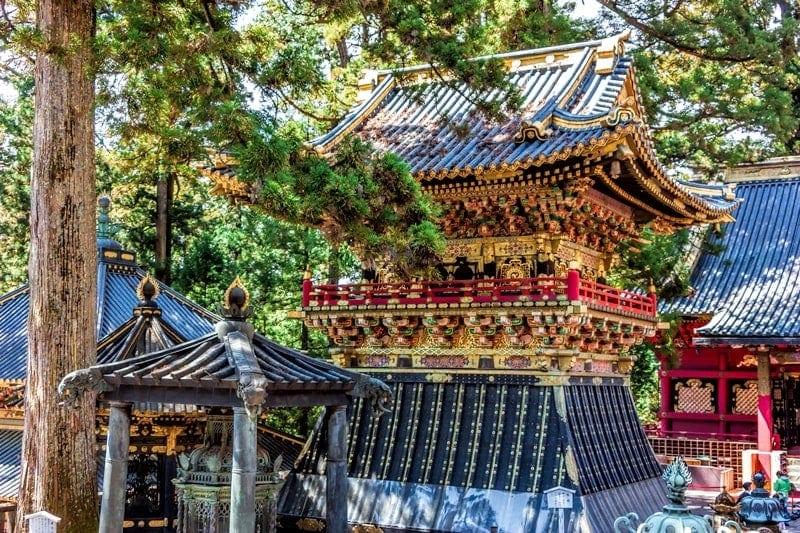Shrine in Nikko
