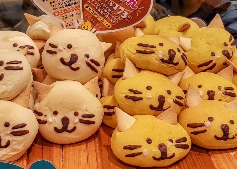Kawaii baked goods