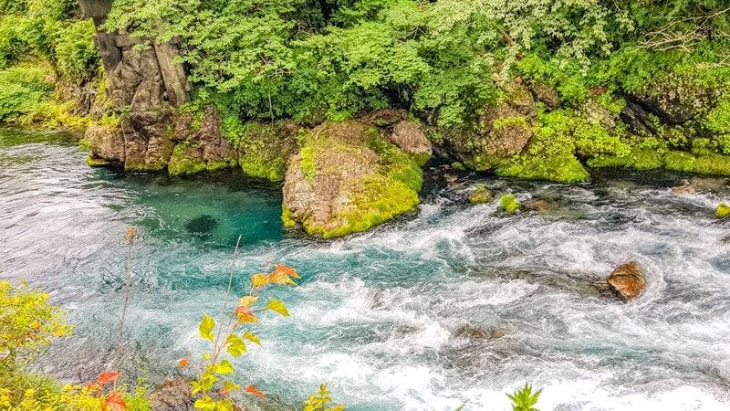 Daiya-gawa river in Nikko