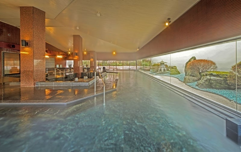 Onsen at Kinugawa Grand Hotel
