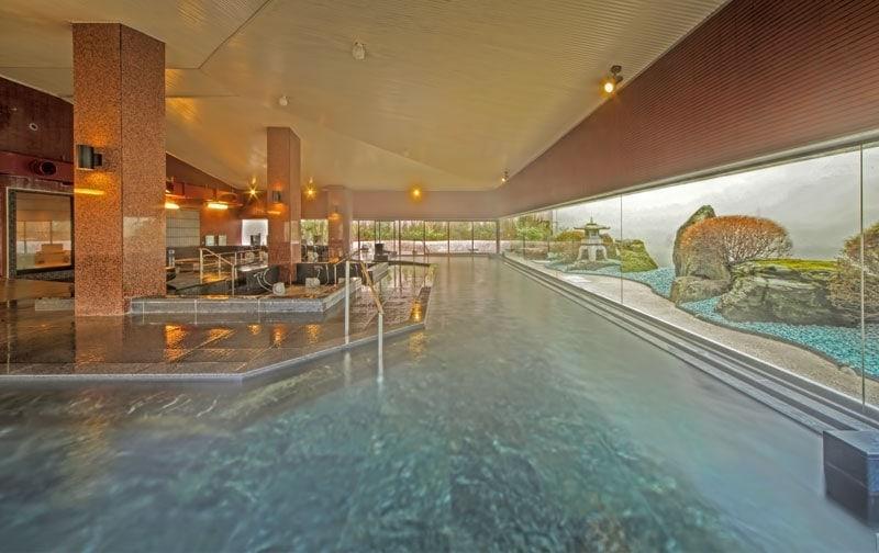 Onsen at Kinugawa Grand Hotel