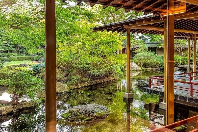 Kinugawa Grand Hotel garden