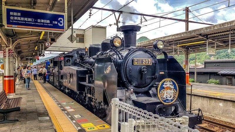 Taijo Steam Locomotive